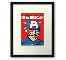 This is Not America Framed Print