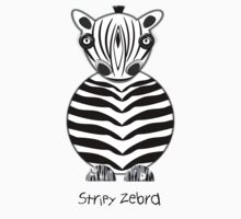 A Stripy Zebra T-shirt, etc. design One Piece - Long Sleeve