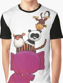Splatter Stack Graphic T-Shirt