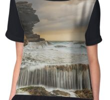 Across the Abyss Chiffon Top