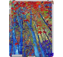 Walk In The Woods Abstract iPad Case/Skin