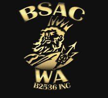 BSAC WA - B2536 INC brass effect Unisex T-Shirt