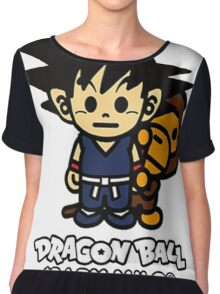 dragon ball z baby milo Chiffon Top