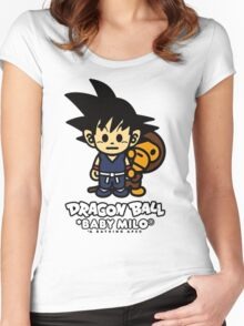 dragon ball z baby milo Women's Fitted Scoop T-Shirt