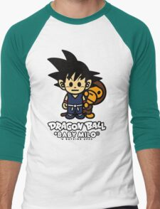 dragon ball z baby milo Men's Baseball ¾ T-Shirt