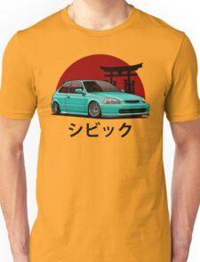 Civic EK (aquamarine) Unisex T-Shirt