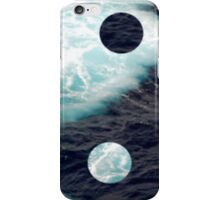 Sea Yin Yang iPhone Case/Skin