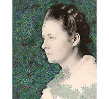 Annie Hall - digital portrait of a lady Photographic Print