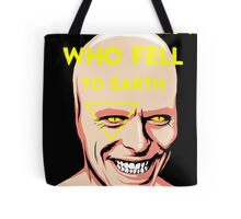 The Man Who Fell to Earth Tote Bag
