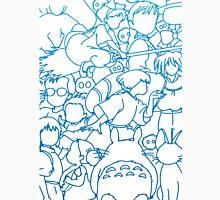 Ghibli Blue Design Unisex T-Shirt