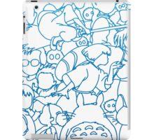 Ghibli Blue Design iPad Case/Skin