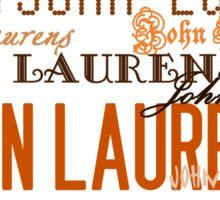 John Laurens Sticker