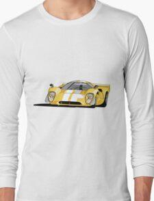 Lola T70 MKIII - Yellow Long Sleeve T-Shirt
