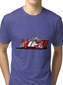 Lola T70 MKIII - Red Tri-blend T-Shirt