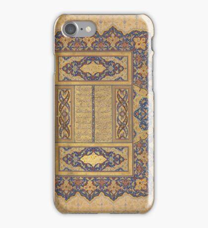 Illuminated Frontipiece of a Manuscript of the Mantiq al-tair iPhone Case/Skin