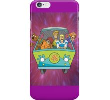 scooby on car iPhone Case/Skin