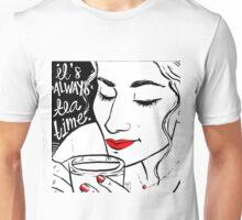 T E A time Unisex T-Shirt
