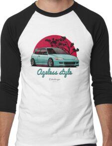 Ageless Style Civic EG (aquamarine) Men's Baseball ¾ T-Shirt