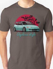 Ageless Style Civic EG (aquamarine) T-Shirt
