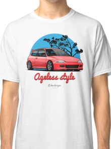 Ageless Style Civic EG (red) Classic T-Shirt