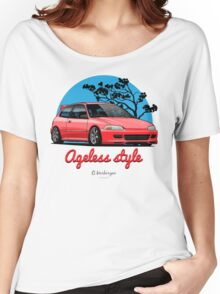 Ageless Style Civic EG (red) Women's Relaxed Fit T-Shirt