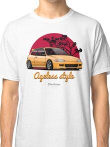 Ageless Style Civic EG (yellow) Classic T-Shirt