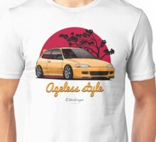 Ageless Style Civic EG (yellow) Unisex T-Shirt