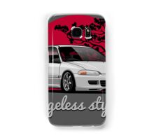Ageless Style Civic EG (white or grey) Samsung Galaxy Case/Skin
