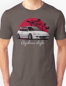 Ageless Style Civic EG (white or grey) T-Shirt