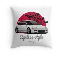 Ageless Style Civic EG (white or grey) Throw Pillow