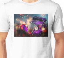 rainy night in the city Unisex T-Shirt