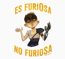 Es FuriOsa, no FurioSA Men's Baseball ¾ T-Shirt