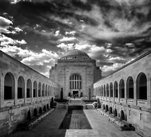 War Memorial - Canberra by Hans Kawitzki
