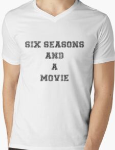 Six Seasons And A Movie Mens V-Neck T-Shirt