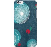 Mushrooms and berries iPhone Case/Skin