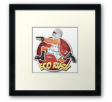 Eco RUsh Framed Print