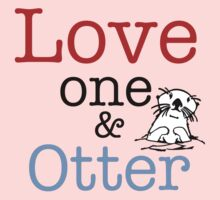 Love One & Otter One Piece - Long Sleeve