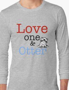 Love One & Otter T-Shirt