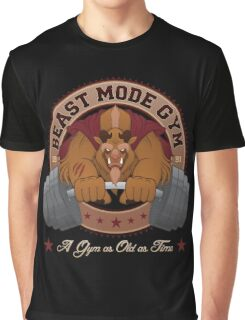 Beast Mode Gym (Non-Distressed) Graphic T-Shirt