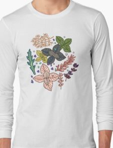 mysterious herbs Long Sleeve T-Shirt