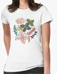 mysterious herbs Womens Fitted T-Shirt