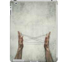 cats cradle iPad Case/Skin