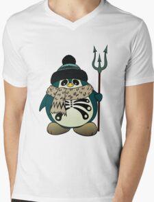 Harold The Penguin Mens V-Neck T-Shirt