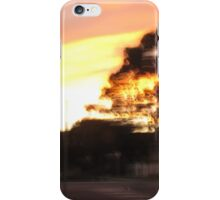 Tree Rush Dusk iPhone Case/Skin