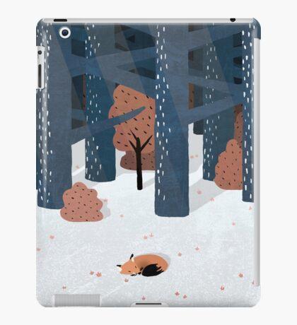 Asleep in the Woods iPad Case/Skin