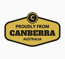Proudly From Canberra Australia One Piece - Short Sleeve