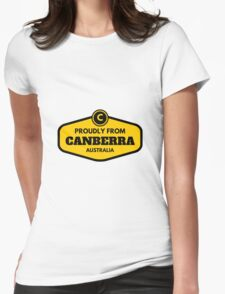Proudly From Canberra Australia Womens Fitted T-Shirt