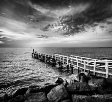 Oliver's Hill Jetty by Christine  Wilson Photography