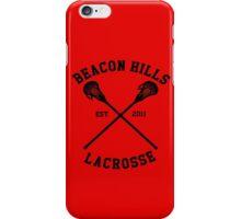 beacon hills 2011 iPhone Case/Skin