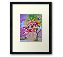 Send me Flowers Framed Print